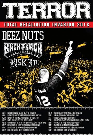 Terror - 16.12.2018 Berlin - Ticket