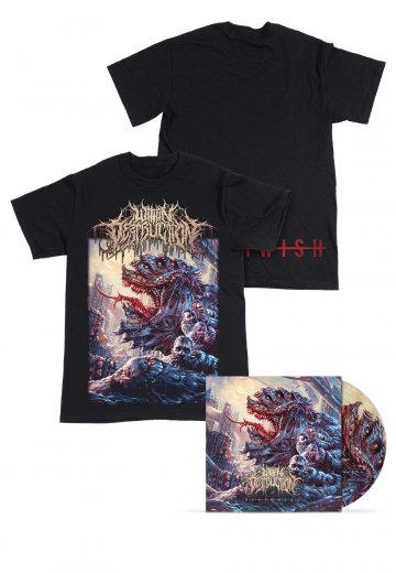 Within Destruction - Deathwish Picture Vinyl Special Pack - T-Shirt