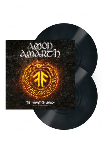 72f63d991df Amon Amarth - The Pursuit Of Vikings  25 Years In The Eye Of The Storm - 2  LP - Official Metal Merchandise Shop - Impericon.com US
