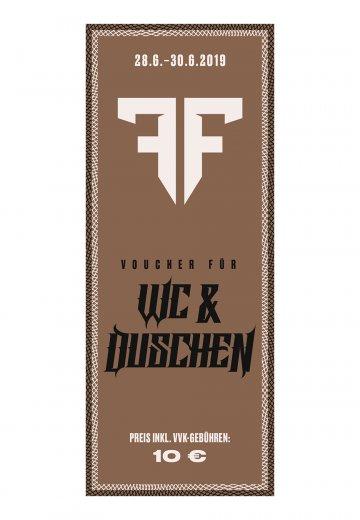 Full Force XXVI - WC/Dusch Voucher