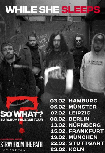 While She Sleeps - 03.02.2019 Hamburg - Ticket