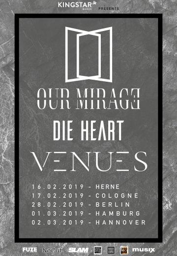 Our Mirage - 17.02.2019 Köln - Ticket