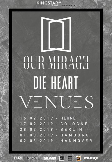 Our Mirage - 02.03.2019 Hannover - Ticket