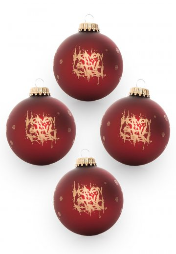 Heaven Shall Burn - Limited Pack Of 4 Xmas - Ball Set