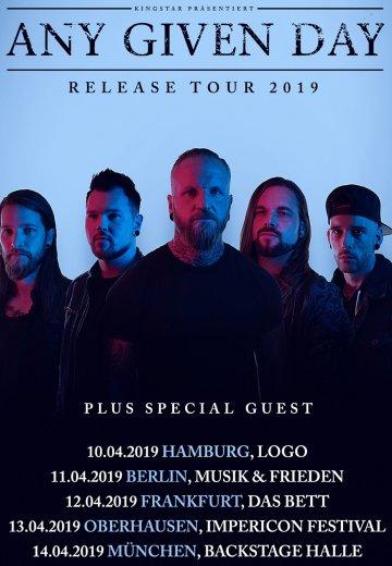 Any Given Day - 12.04.2019 Frankfurt - Ticket