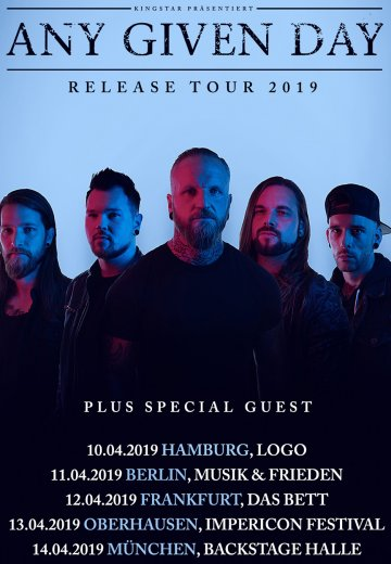 Any Given Day - 14.04.2019 München - Ticket