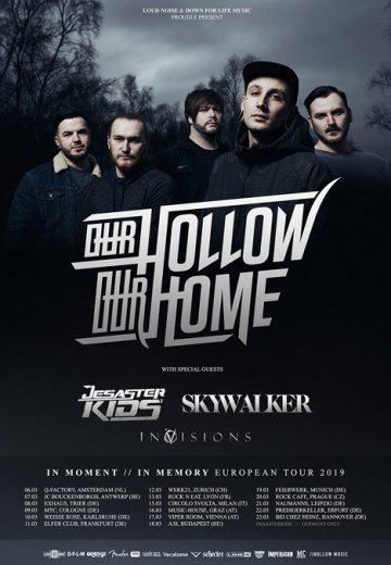 Our Hollow, Our Home - 18.03.2019 Budapest - Ticket