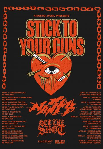 Stick To Your Guns - 14.04.2019 Hannover - Ticket