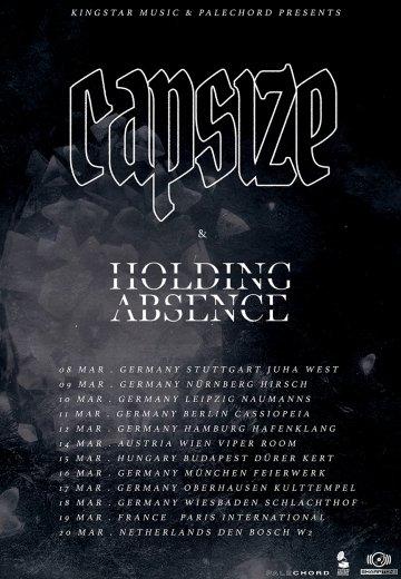 Capsize - 12.03.2019 Hamburg - Ticket