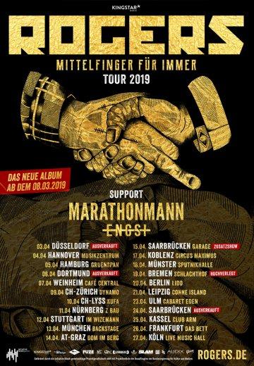Rogers - 05.04.2019 Hamburg - Ticket
