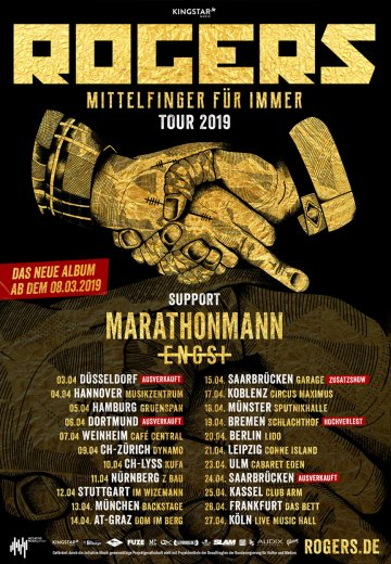 Rogers - 20.04.2019 Berlin - Ticket