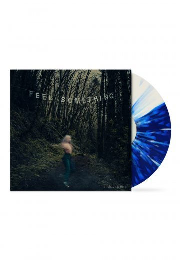 Movements - Feel Something Half White Half Blue - Splatter LP