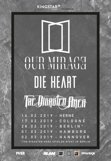 Our Mirage - 28.02.2019 Berlin - Ticket