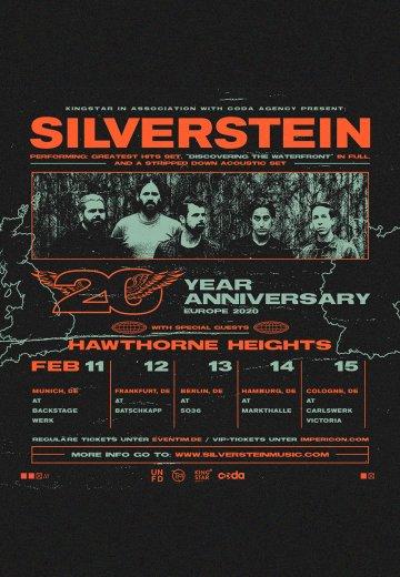 Silverstein Tour 2020 Silverstein   13.02.2020 Berlin FOR THE FANS   Ticket   Official