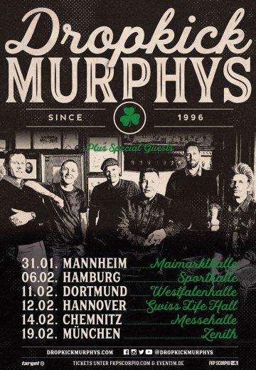 Dropkick Murphys Tour 2020.Dropkick Murphys 19 02 2020 Munchen Ticket