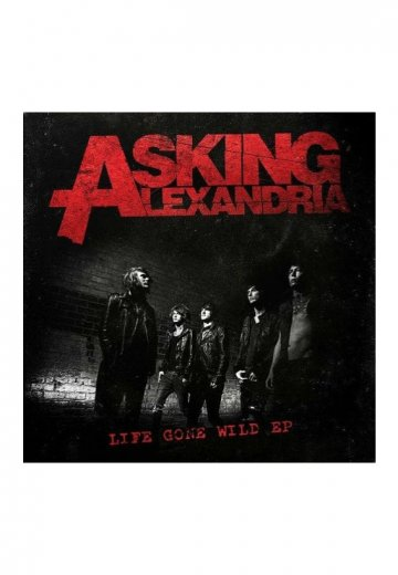 Asking Alexandria - Life Gone Wild EP - CD