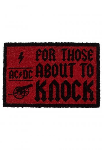 AC/DC - For Those About To Knock - Doormat