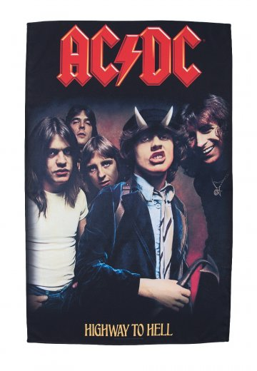 AC/DC - Highway To Hell - Flagge - Offizieller Hard And ...