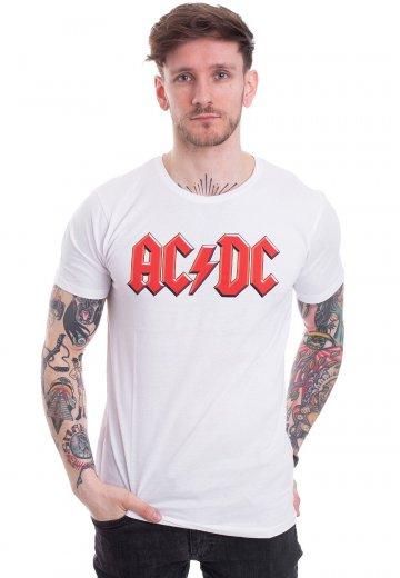 AC/DC - Logo White - T-Shirt