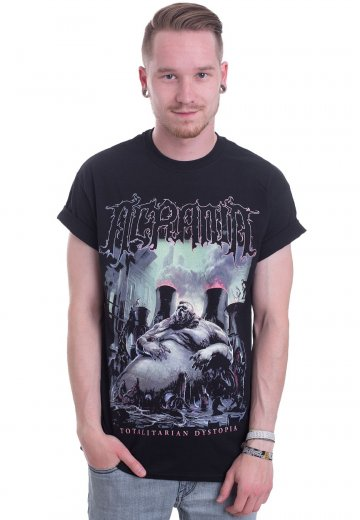 Acrania - Totalitarian Dystopia Cover - T-Shirt