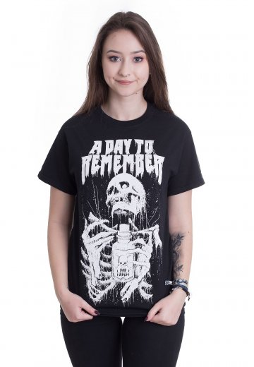 A Day To Remember - Skeleton - T-Shirt