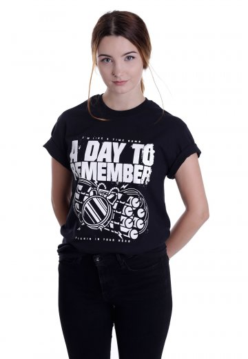 A Day To Remember - Time Ticking - T-Shirt