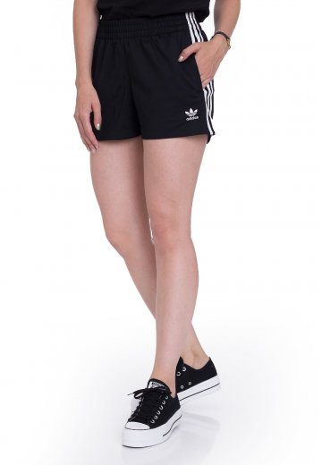 5e119cad1bf92b Adidas - 3 Stripes Black - Shorts - Streetwear Shop - Impericon.com AU