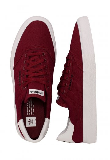 Adidas - 3MC Collegiate Burgundy/Collegiate Burgundy/Ftwr White - Shoes