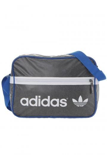 Adidas - AC Airline Dark Grey Heather Bluebird - Bag - Streetwear Shop -  Impericon.com AU 0a309060a1861