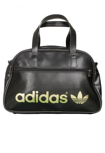 8bf26a2e25 Adidas - AC Holdall Black/Metallic Gold - Bag - Streetwear Shop -  Impericon.com Worldwide