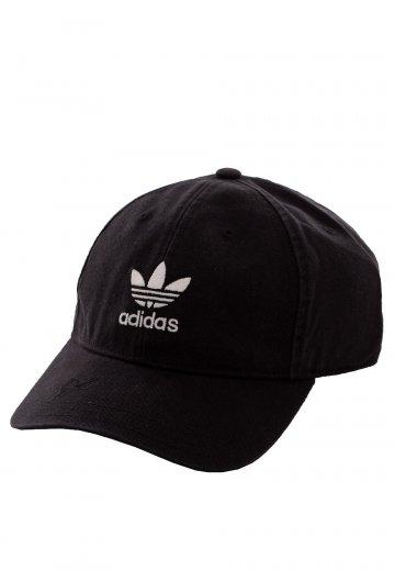 Adidas - Adilcolor Washed Black White - Cap - Streetwear Shop ... 8e198643dd04b