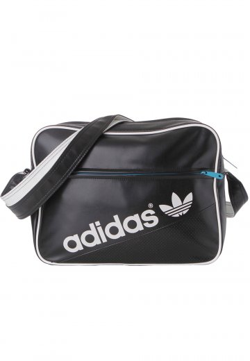 2b6977ef775b Adidas - Adicolor Airliner Black Running White - Bag - Streetwear Shop -  Impericon.com Worldwide