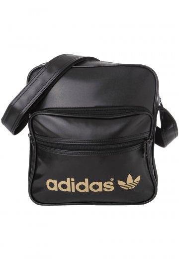 Adidas - Adicolor Sir Black Metallic Gold - Bag - Streetwear Shop . f13b03ddcca4e