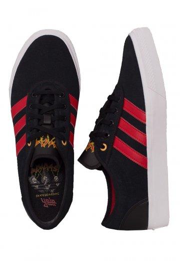 online store 9c7ea b845f Adidas - Adi-Ease Core BlackScarletFtw White - Shoes - Impericon.com US