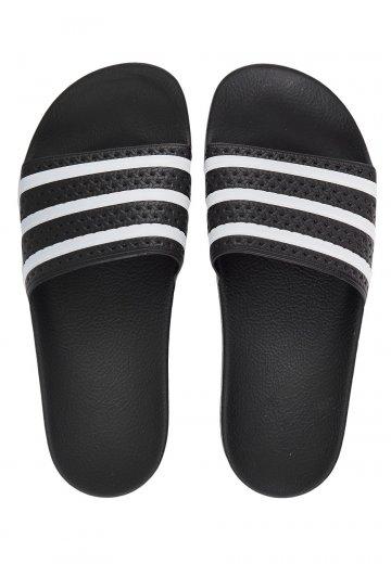 Adidas - Adilette Black/White/Black - Sandals