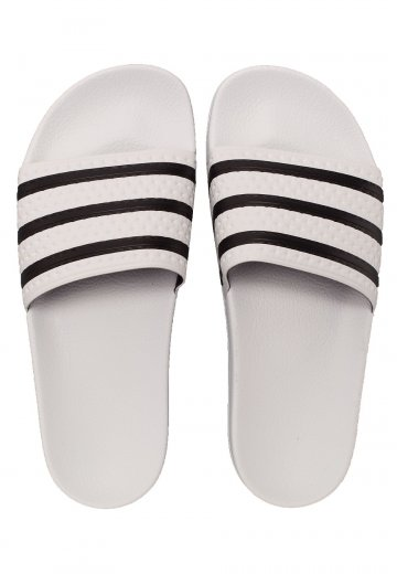 Adidas - Adilette White/Core Black/White - Sandals