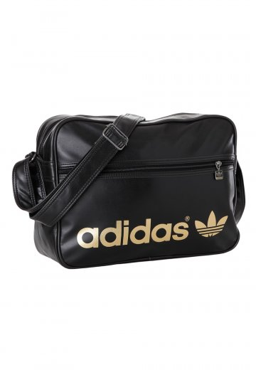 6a2d3af8fa0f Adidas - Airline Black Metallic Gold - Bag - Streetwear Shop -  Impericon.com Worldwide