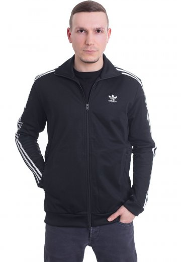 40d1f140e3de Adidas - Beckenbauer Black - Track Jacket - Streetwear Shop - Impericon.com  AU