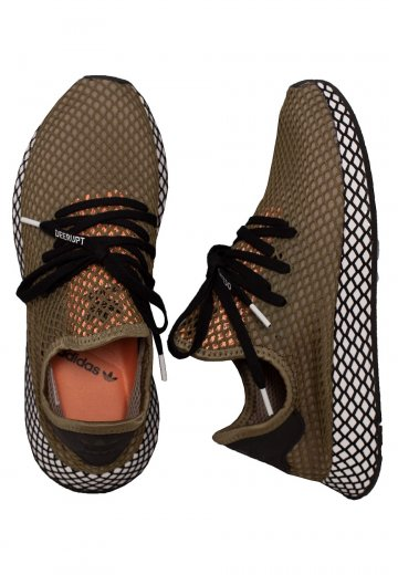 9796ebccce8d Adidas - Deerupt Khaki Core Black - Shoes - Impericon.com AU