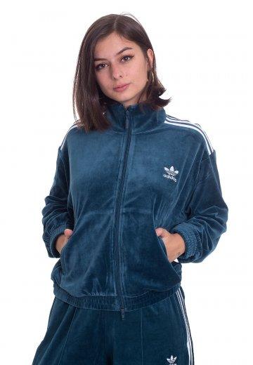 Adidas velour jacket | Etsy