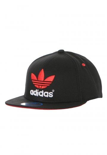 fb7b085120c1 Adidas - Flatbrim Black Vivid Red - Cap - Streetwear Shop - Impericon.com US