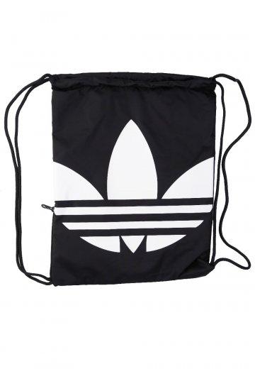 c7b6ca46d822 Adidas - Gymsack Trefoil Black White Drawstring - Backpack - Streetwear  Shop - Impericon.com UK