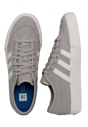 Adidas - Matchcourt Grey Two/Ftwr White/Gum 4 - Shoes