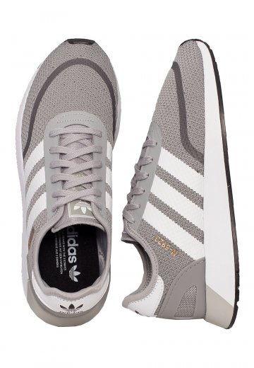 Adidas - N-5923 Solid Grey/Ftw White/Core Black - Shoes