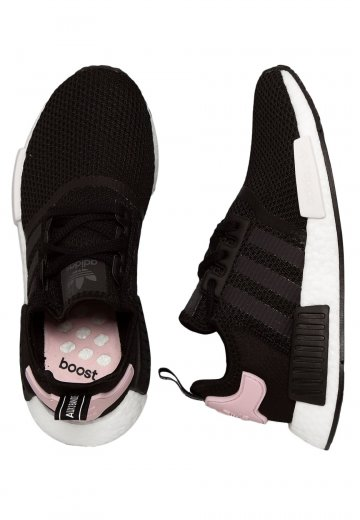 0d60c7318afb9 Adidas - NMD R1 W Core Black Ftwr White Clear Pink - Girl Shoes -  Impericon.com US