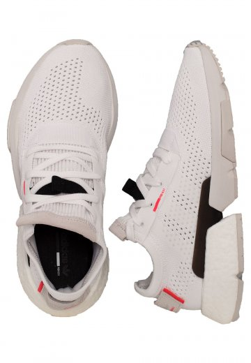 637866f0646b Adidas - POD-S3.1 Ftwr White Ftwr White Red - Shoes - Impericon.com UK