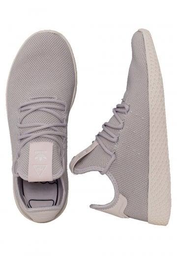 ed3c02a95 Adidas - Pharrell Williams Tennis HU W Solid Grey Solid Grey Core White -  Girl Shoes - Impericon.com AU
