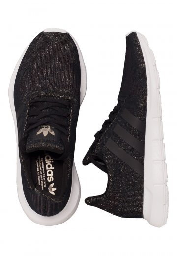 Adidas - Swift Run Core Black/Core Black/Ftw White - Girl Shoes