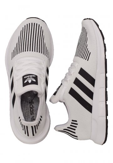ecd7020cd Adidas - Swift Run Ftw White Core Black Medium Grey Heather - Shoes -  Impericon.com AU