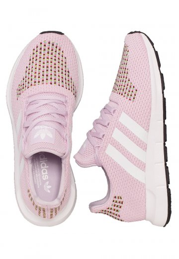 Adidas - Swift Run Aero Pink/Ftw White/Core Black - Girl Shoes